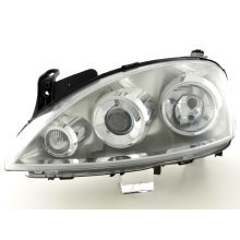Spare parts headlight left Opel Corsa C Year 03-06