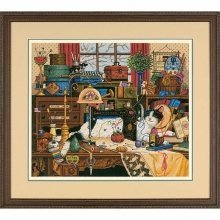 D03884 - Dimensions Counted X Stitch - Gold, Maggie the Messmaker