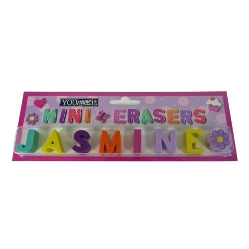 Childrens Mini Erasers - Jasmine