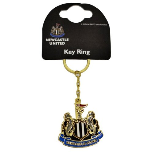 Newcastle United Crest Keyring - Official Football Licensed Gift Fc -  newcastle united keyring crest official football licensed gift fc