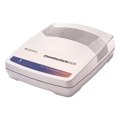 Command Communications Comswitch 5500 3 Port PhoneFax Modem Line Sharing Device