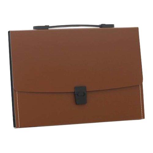 13 Pockets Portable File Holder A4 Document Organizer Information Bag-B