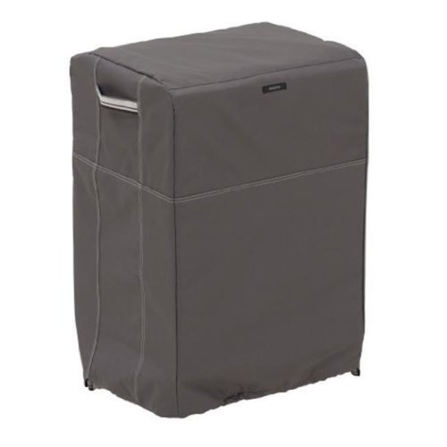 Classic Accessories 55-852-045101-EC Large Smoker Cover Square, Taupe