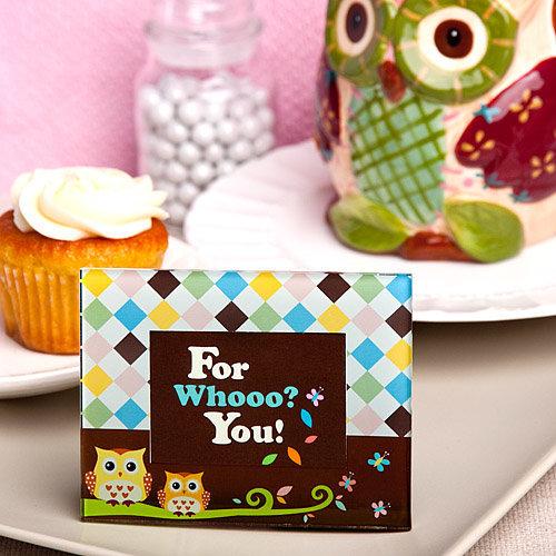 Adorable Owl Design Picture Frames