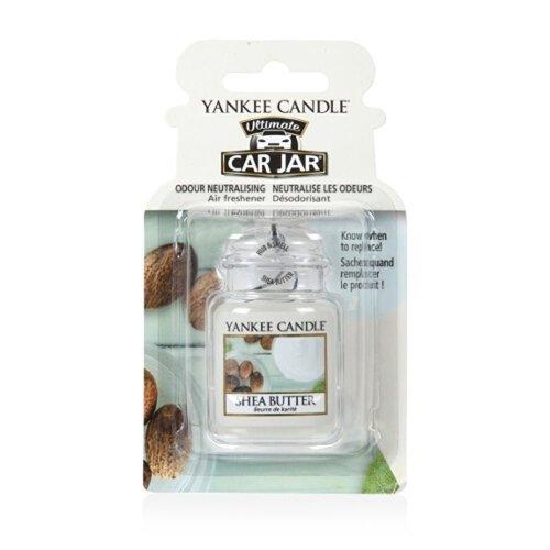 Yankee Candle 1521600E Car Freshener, Car Jar Ultimate, Shea Butter