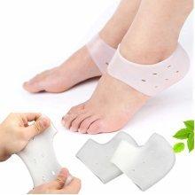 1 Pair Soft Silicone Heel Socks Moisturizing Feet Skin Care Anti Crack Control Foot Protector