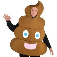 Pooper Emoji Smiley Costume