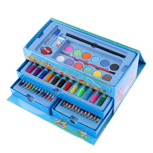 Deluxe Art Set/ Mixed Media Art Set Case/ Best Gift For Kids   A