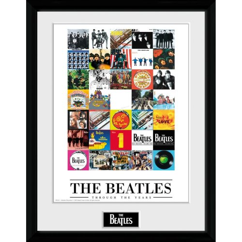 The Beatles Through the Years Framed Collector Print