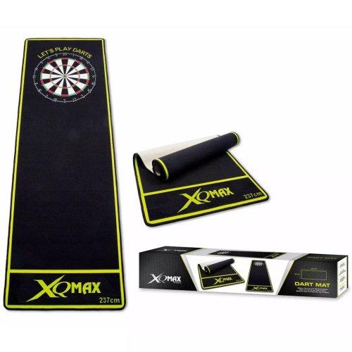 XQmax Darts Mat 237x80cm Green Sport Durable Floor Protect Rug Sheet QD2100010