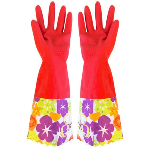 Latex Gloves Cleaning Gloves Household Gloves Waterproof Latex Gloves