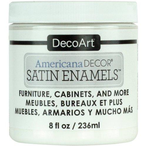 Americana Decor Satin Enamels 8oz-Pure White