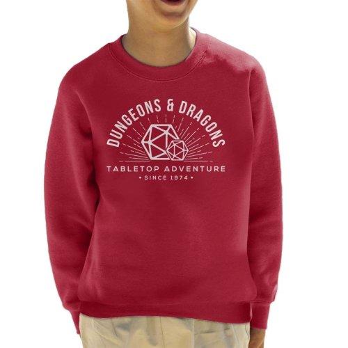 Dungeons And Dragons Adventures Since 1974 Kid's Sweatshirt