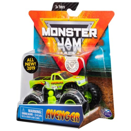 Monster Jam Vehicle 1:64 Scale (Styles Vary)